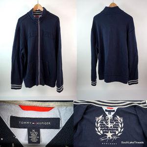 Men's Tommy Hilfiger L/S Full Zip Knit Jacket XL